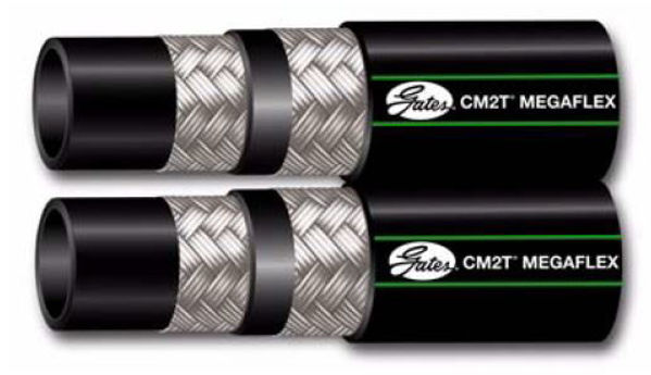 Picture of CM2TDL - Gates Twin Wire Braid