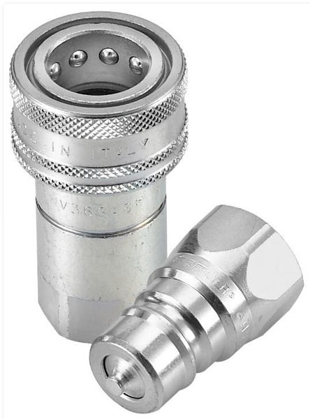 Picture of NS - Standard Coupling with Ball Valve