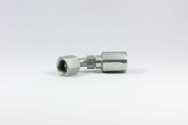 Picture of C5-RFSX45 - 45° Tube Female SAE Swivel C5C, C5CXH, C5D, C5M