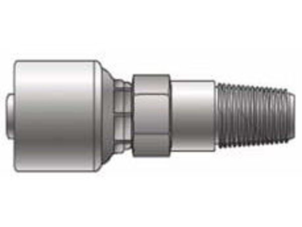 Picture of MegaCrimp - Straight Male NPT Long