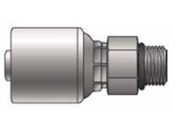 Picture of MegaCrimp - Straight male SAE O-Ring Boss