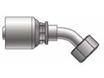 Picture of MegaCrimp - 45° Tube Female JIC Swivel