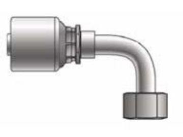 Picture of MegaCrimp - 90° Tube Female JIC Swivel