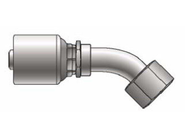 Picture of MegaCrimp - 45° Tube Female SAE Swivel