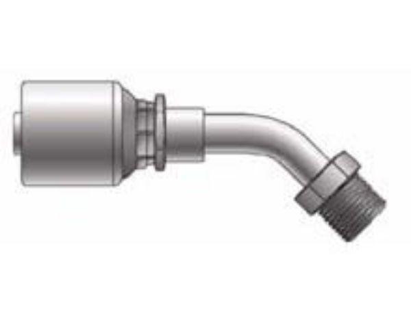 Picture of MegaCrimp - 45° Tube Male SAE Swivel