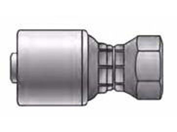 Picture of MegaCrimp - Straight Female DIN Light Swivel