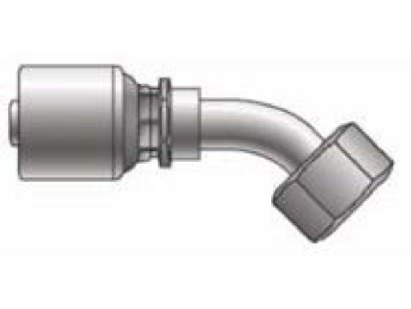 Picture of MegaCrimp - 45° Tube Female BSPP Swivel