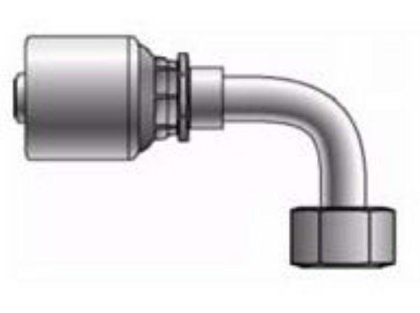 Picture of MegaCrimp - 90° Tube Female BSPP Swivel