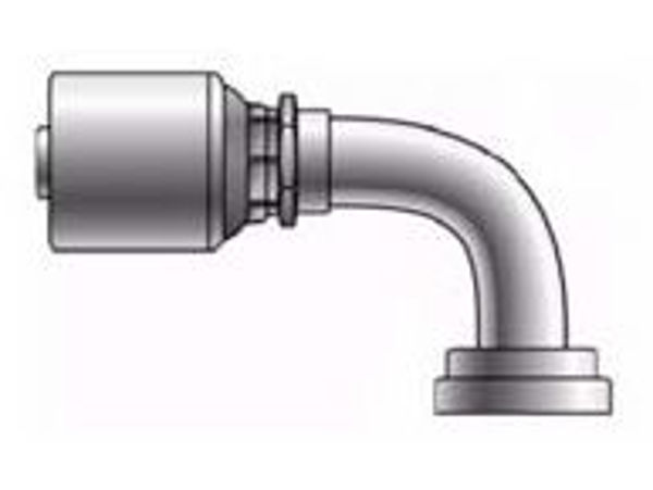 Picture of MegaCrimp - 90° Tube Komatsu O-Ring Flange