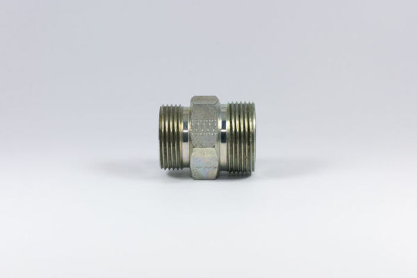Picture of F3- M/M SAE O-Ring Boss x ORFS