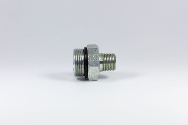 Picture of CB3- M/M SAE O-Ring Boss x BSPT