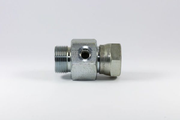 "Picture of CP24G- M/F BSPP x BSPP with 7/16"" UNO Gauge Point"