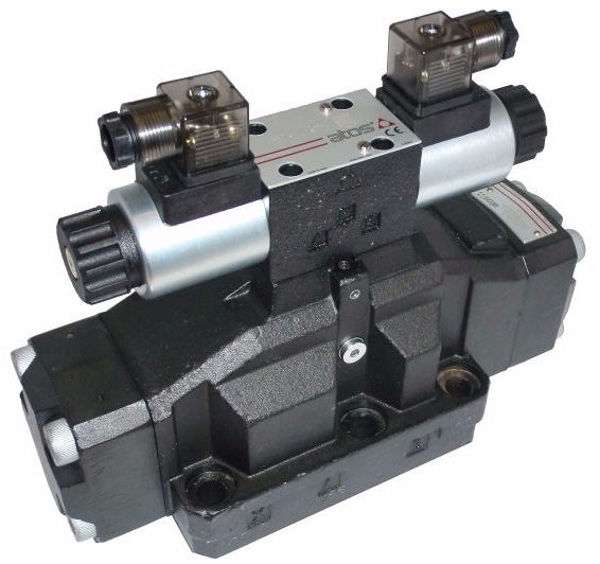 Picture of DPHE47 - 3 Position Solenoid Directional Control Valve