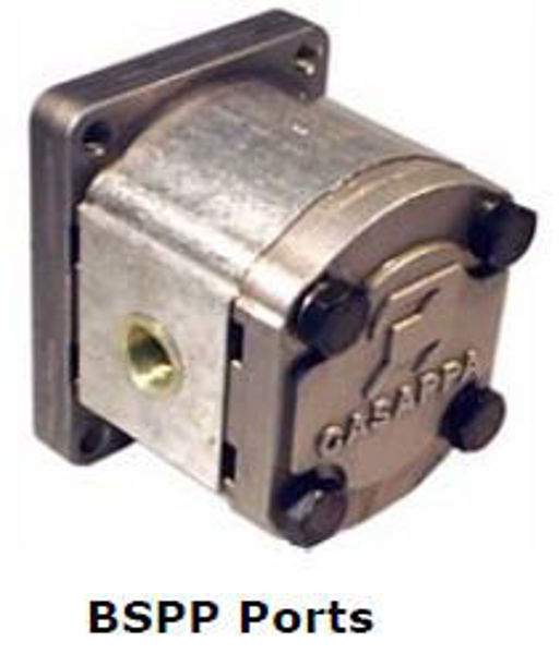 Picture of Gear Pump - Group 2 Euro Mount (Taper Shaft) with Threaded  Port