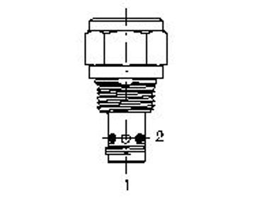 Picture of CVFB-P - Check Valve Forward Poppet
