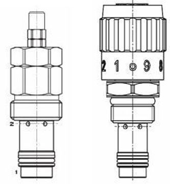 Picture of PU - Pressure Compensated Flow Control Cartridge Series