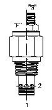 Picture of PCFC - Flow Control Valve Pressure Compensated Fixed Orifice Restrictive Type