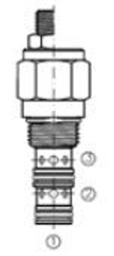 Picture of BFCV - Flow Control Valve Pressure Compensated Fixed Orifice Priority Type