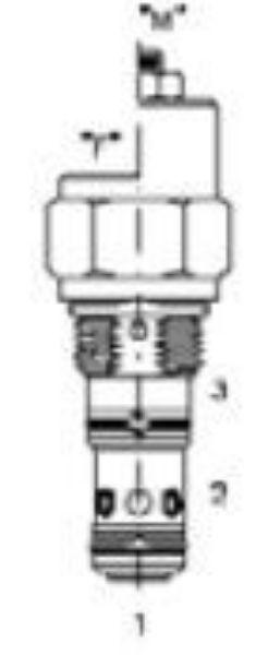 Picture of CBP-20M - Counter-Balance Valves suit Sun Cavity (T-11A)