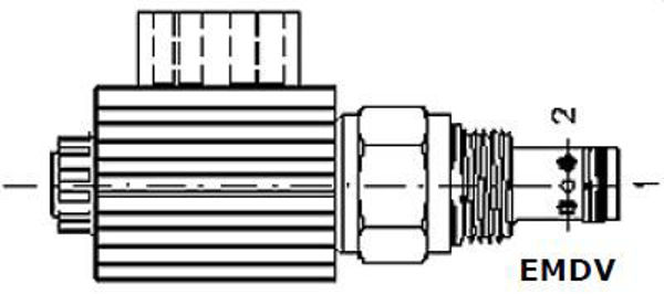Picture of EMDV (2/2) - 2-Way 2-Position Solenoid Directional Control Valves
