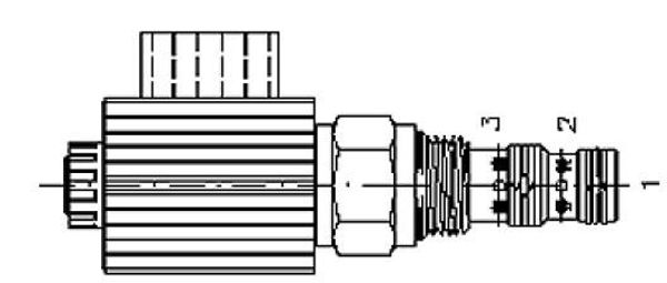Picture of EMDV (3/2) - 3-Way 2-Position Solenoid Direction Valves