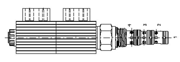Picture of EMBV (4/3) - 4-Way 3-Position Solenoid Direction Valves