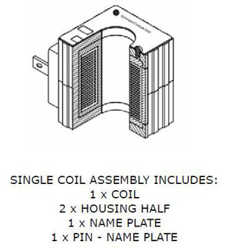 Picture of Solenoid Coil Assemblies