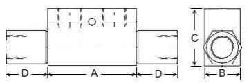 Picture of SPOC - Double Lock Valve Steel Body