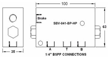 Picture of SBV - Brake Release Valve