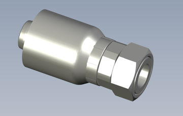 Picture of Global Series Max - Straight Female ORFS Swivel