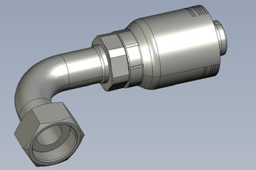 Picture of Global Series Max - 90° Tube Female ORFS Swivel