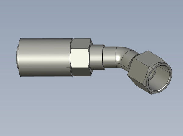 Picture of Global Series - 45° Tube Female BSPP O-Ring Swivel