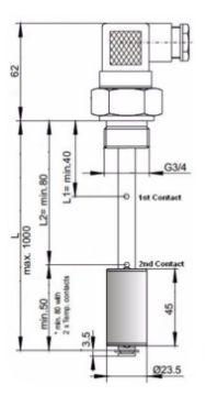 Picture of Level & Temperature Probe